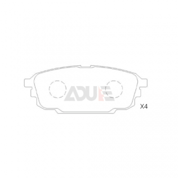 Ford Front Brake Pads   E-215
