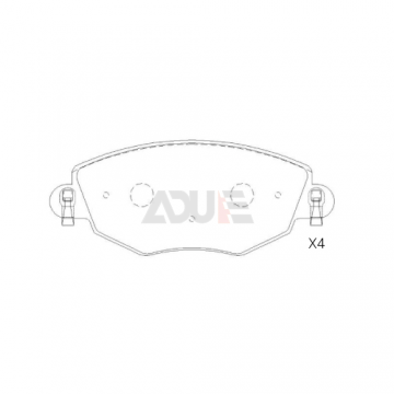 E-219 | Luxgen Disc Pads for Cars