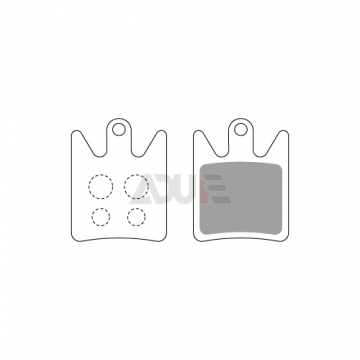 Cycle Brake Pads for HOPE | Model E-1149