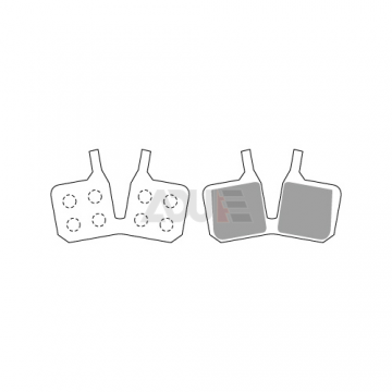 Bicycle Disc Brake Pads for Magura | E-1116