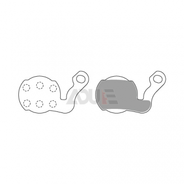 E1145 Bicycle Brake Pads for Brake Force One