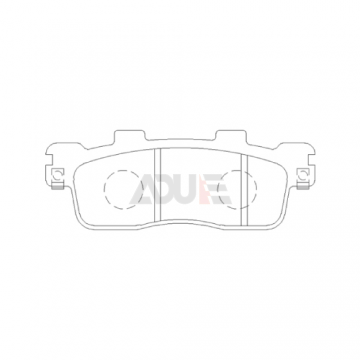 Motorcycle Brake Disc Pad for Benelli   E1024