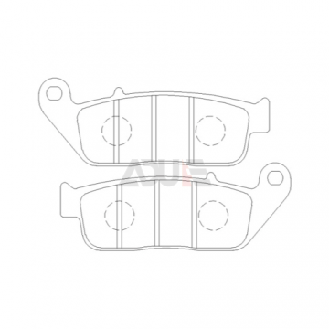 E1028 - Honda Motorcycle Brake Pads