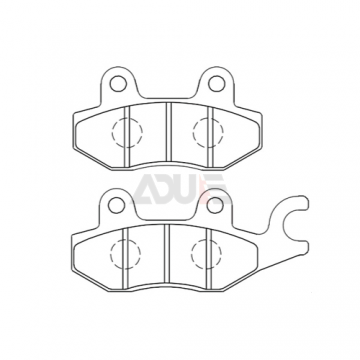 Peugeot Motorcycle Brake Disc Pads - E-1037